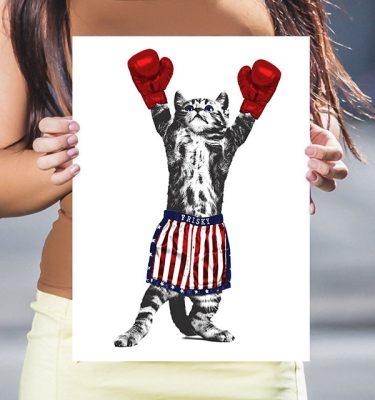 Frisky Balboa Poster