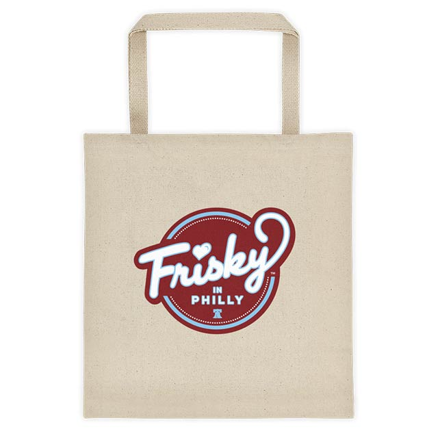 frisky in philly tote